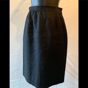 Valentino Miss V Neimen Marcus Black Skirt